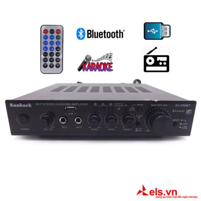 Ampli 220V Bluetooth Sunbuck 299BT