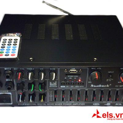 Ampli 220V12V Sunbuck 326C