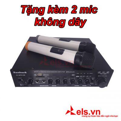 Ampli karaoke Bluetooth Sunbuck MP618E