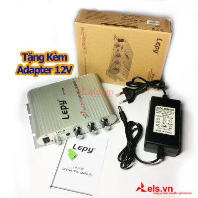 Ampli mini 12V Lepy LP-838sdvsdvsv