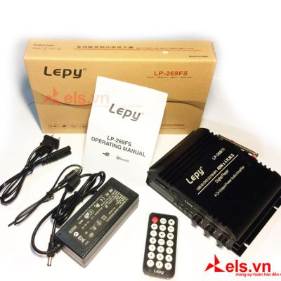 Ampli mini bluetooth 12V lepy 269FS