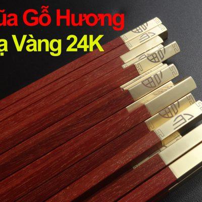 Bộ-5-Đôi-Đũa-Gỗ-Hương-Đỏ-Mạ-Vàng-24K-D4-chất-lượng-đảng-cấp-giá-tốt-1