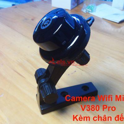 Camera-wifi-mini-giám-sát-từ-xa-V380-Pro-độ-phân-giải-cao-kèm-chân-đế-đại-diện